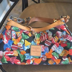Dooney & Bourke candy purse coated canvas removed